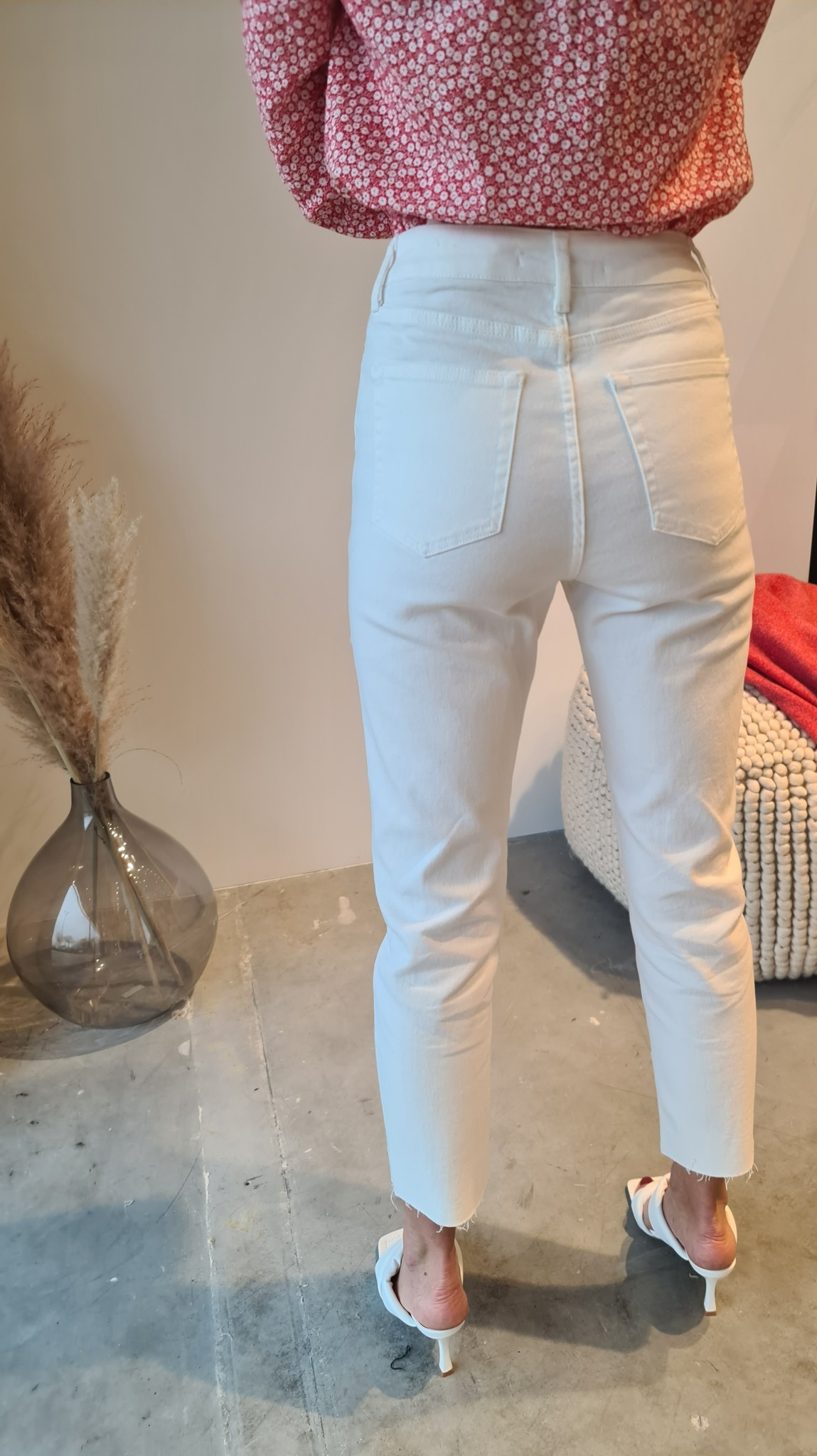 MARYLINE jeans blanc-5