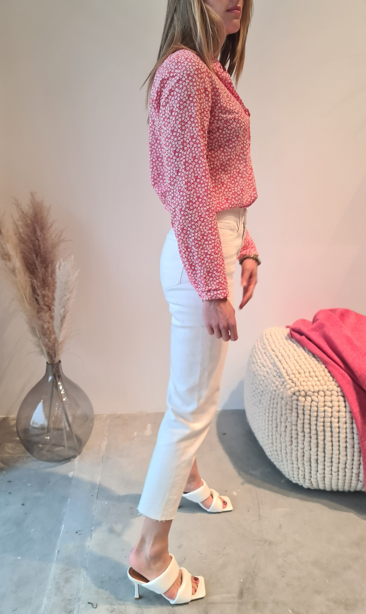 MARYLINE jeans blanc-6