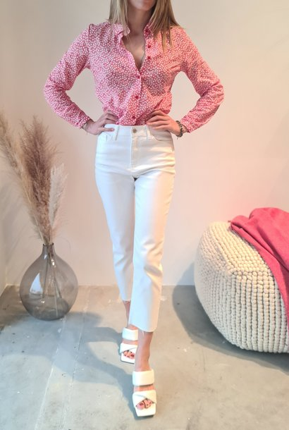MARYLINE jeans blanc