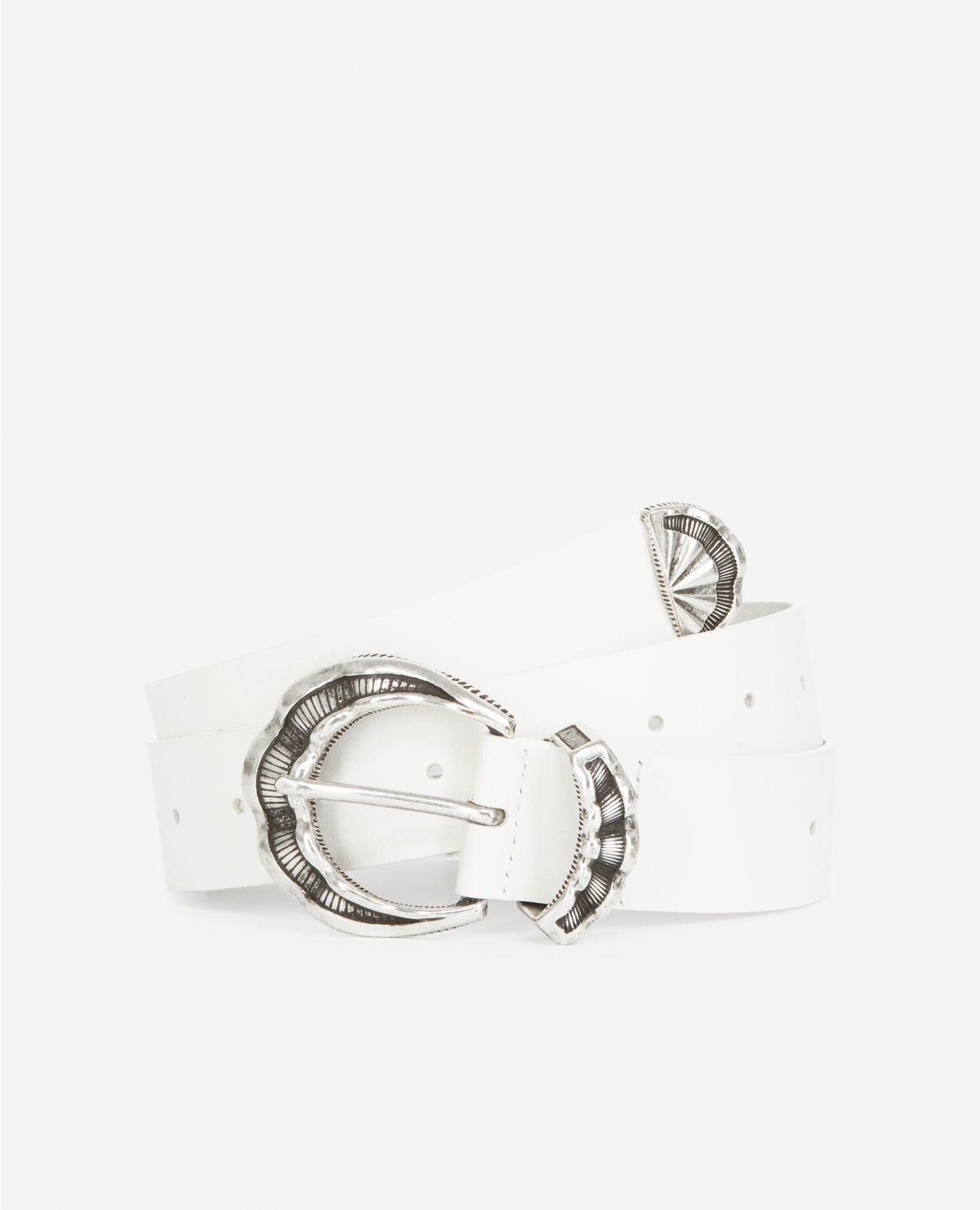 THE KOOPLES ceinture cuir classique-3