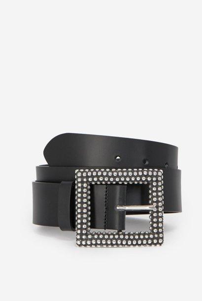 THE KOOPLES ceinture cuir classique detail clous