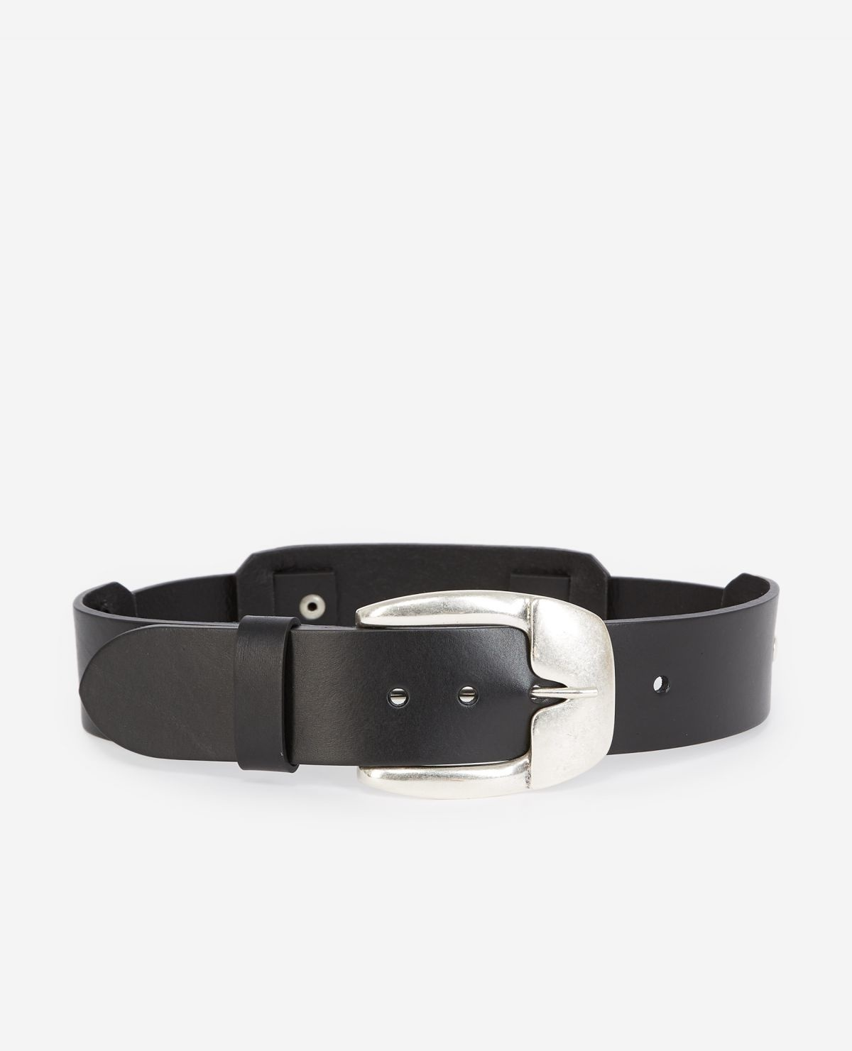 THE KOOPLES ceinture cuir detail pressions-1