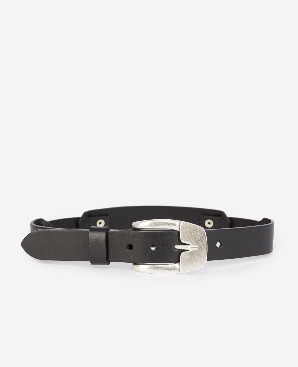 THE KOOPLES ceinture cuir lisse-1