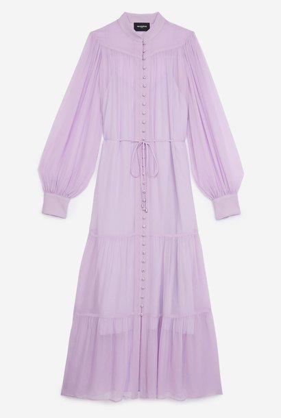THE KOOPLES robe longue ceinturee