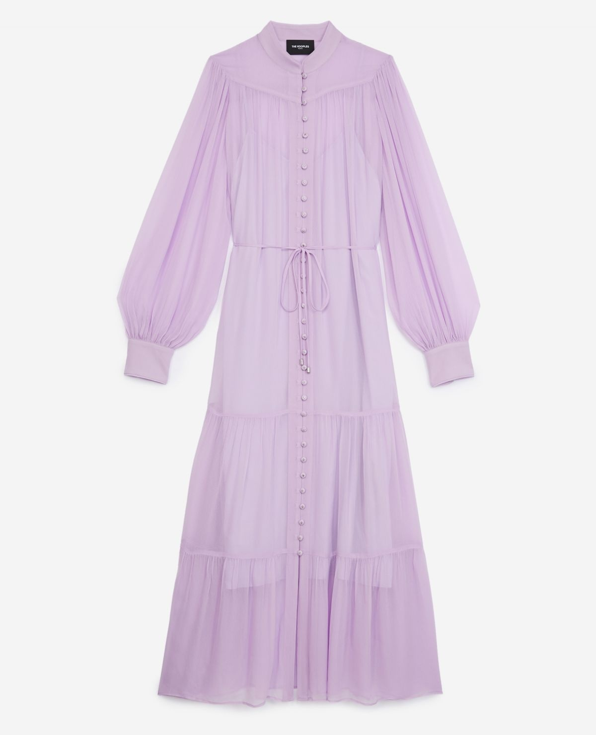 THE KOOPLES robe longue ceinturee-1