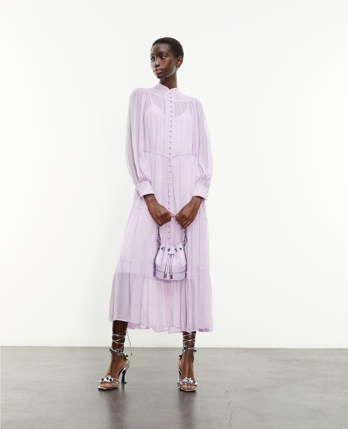 THE KOOPLES robe longue ceinturee-2