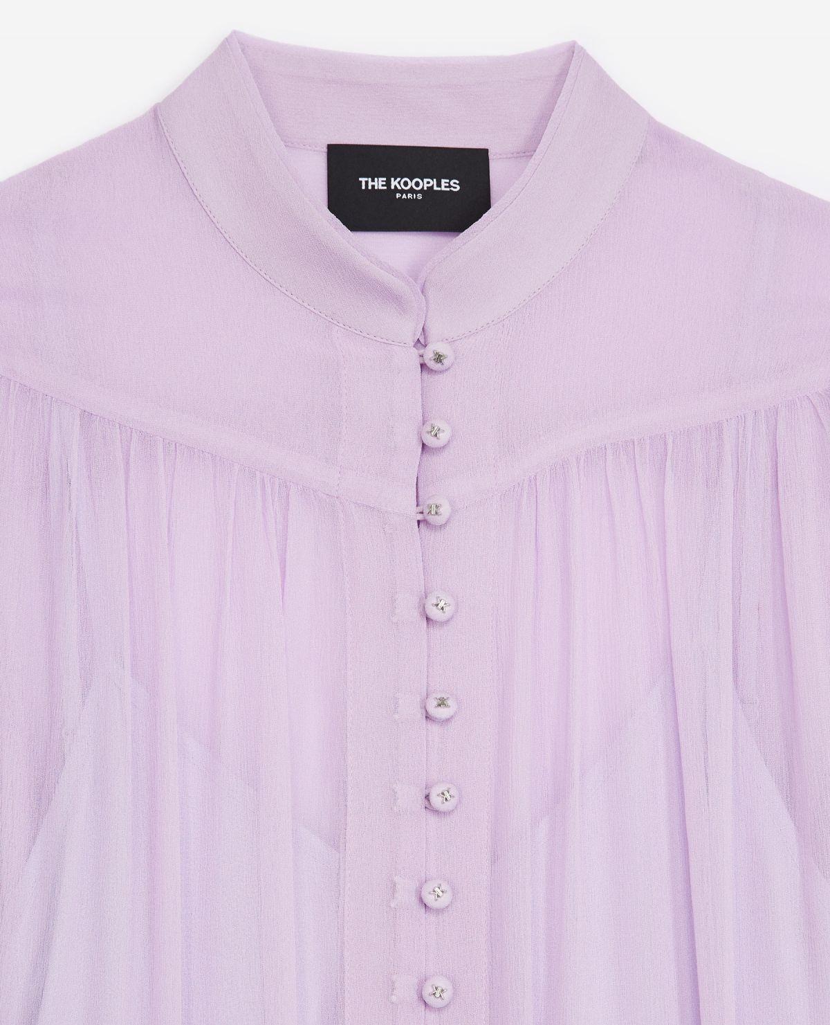 THE KOOPLES robe longue ceinturee-3