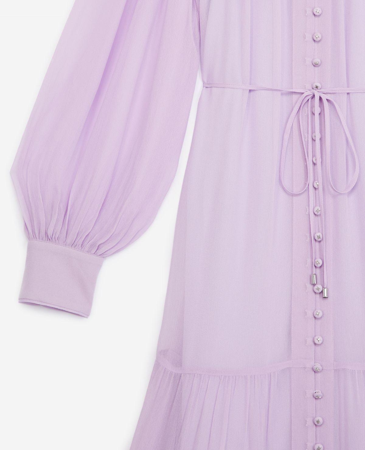 THE KOOPLES robe longue ceinturee-4
