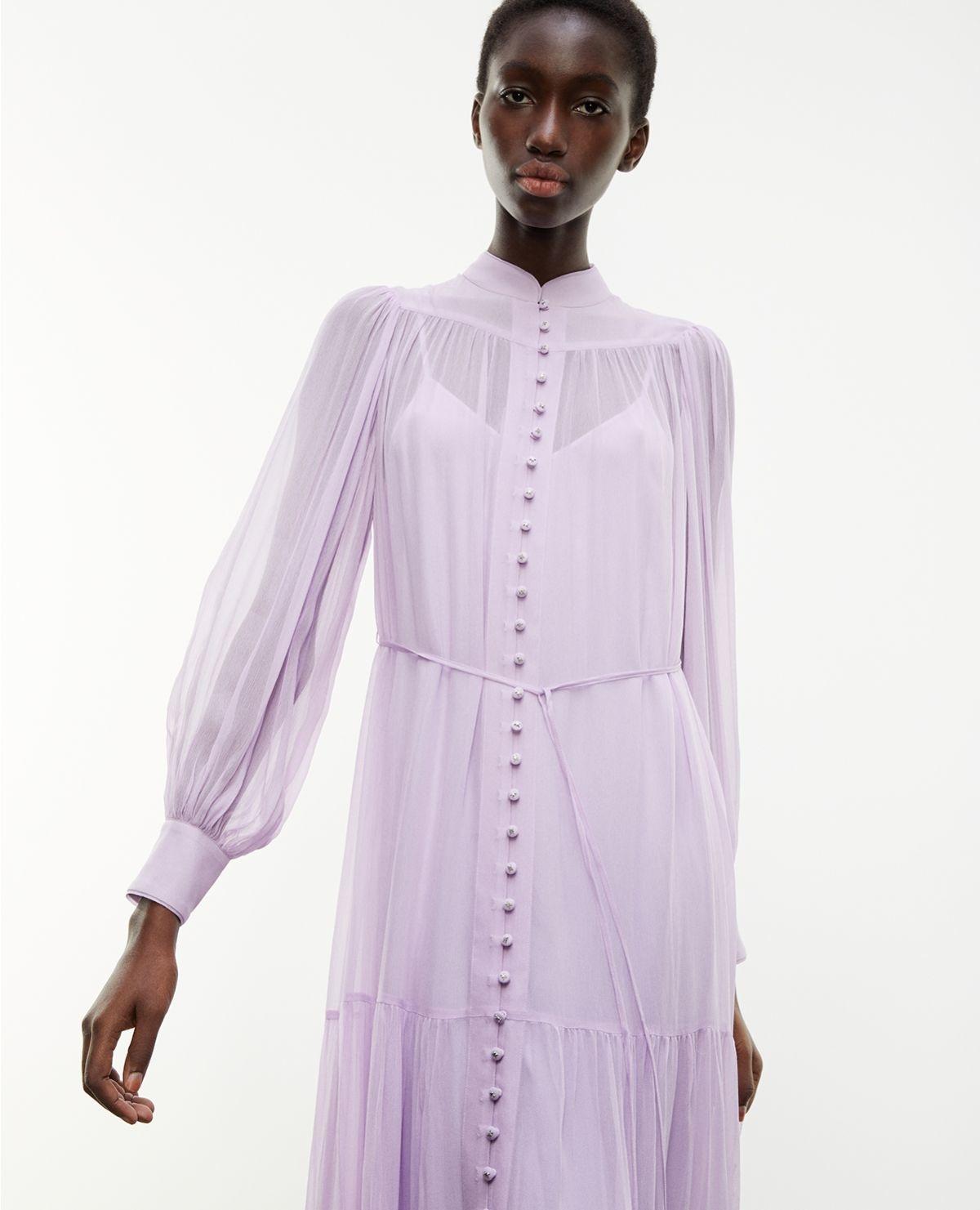 THE KOOPLES robe longue ceinturee-6
