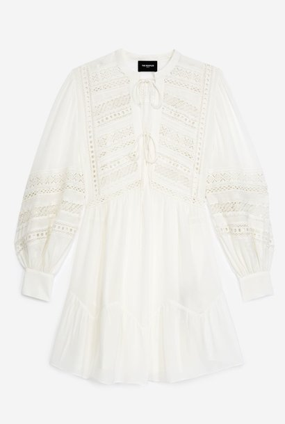 THE KOOPLES robe courte blanche