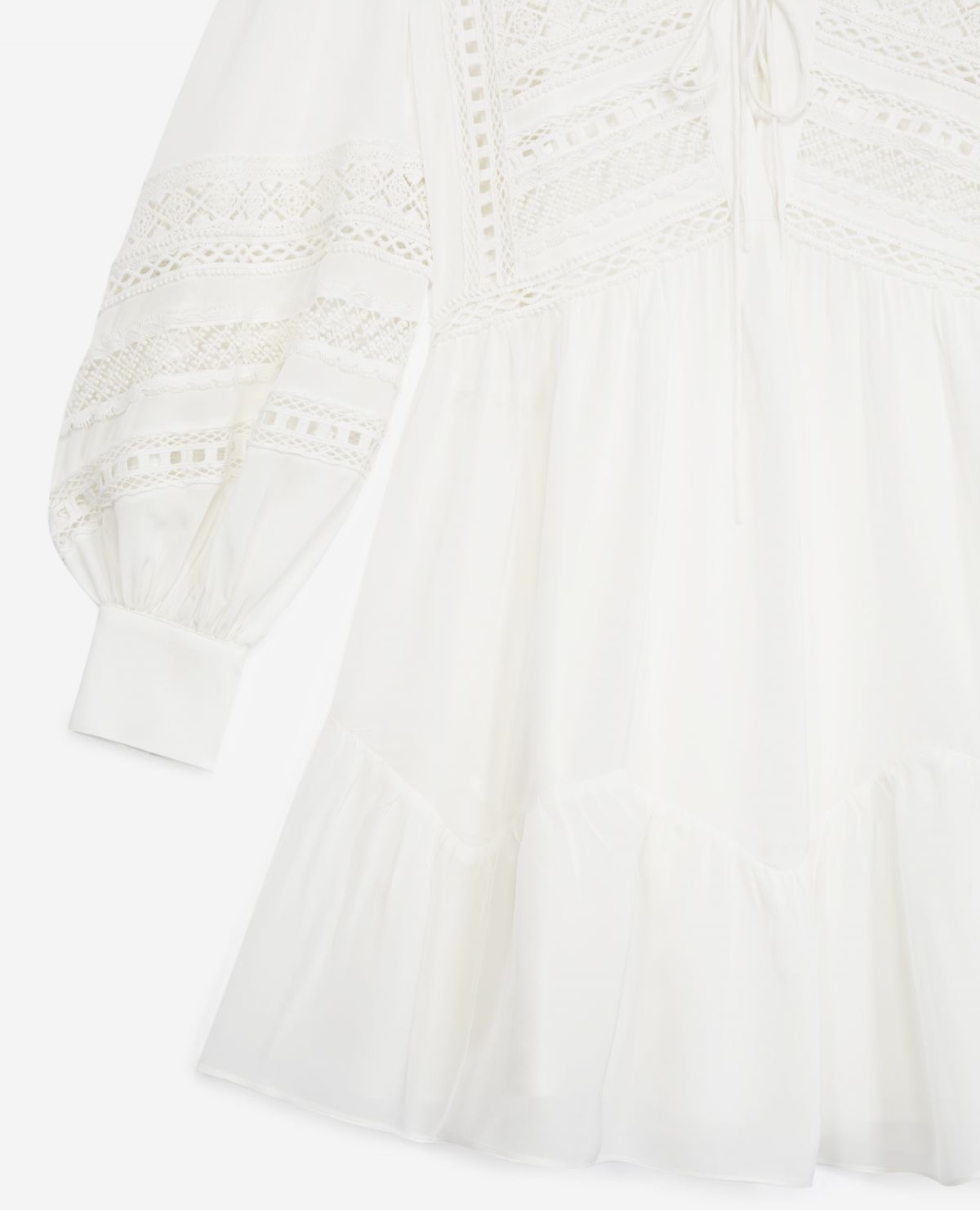 THE KOOPLES robe courte blanche-4