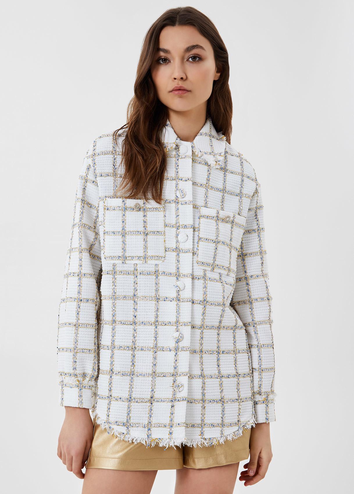 LIUJO veste avec boutons-1