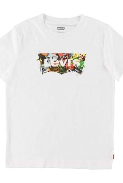 LEVIS KIDS T-shirt Levis - UV - Blanc w. Impression