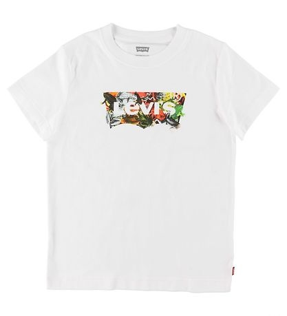 LEVIS KIDS T-shirt Levis - UV - Blanc w. Impression-1