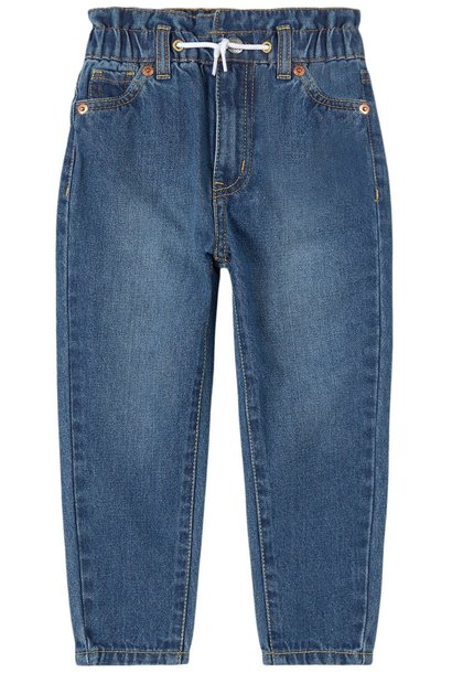 levis kids High Loose Tapered Jean Bleu