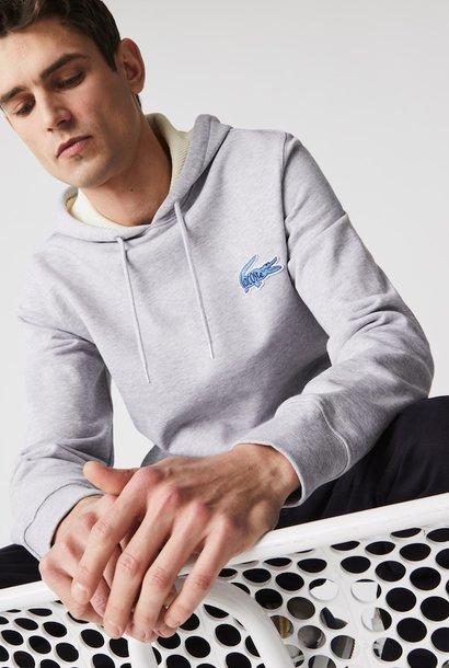 LACOSTE Sweatshirt à capuche avec badge