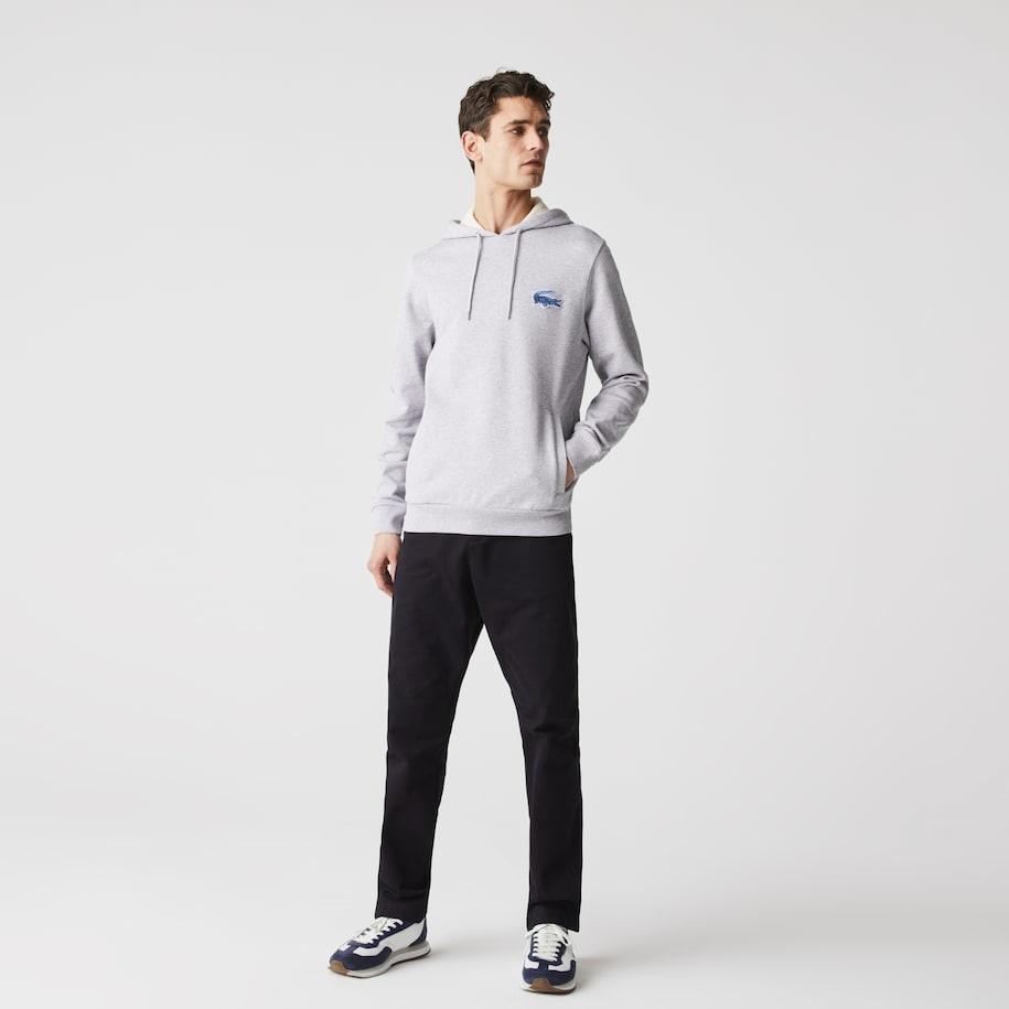 LACOSTE Sweatshirt à capuche avec badge-3