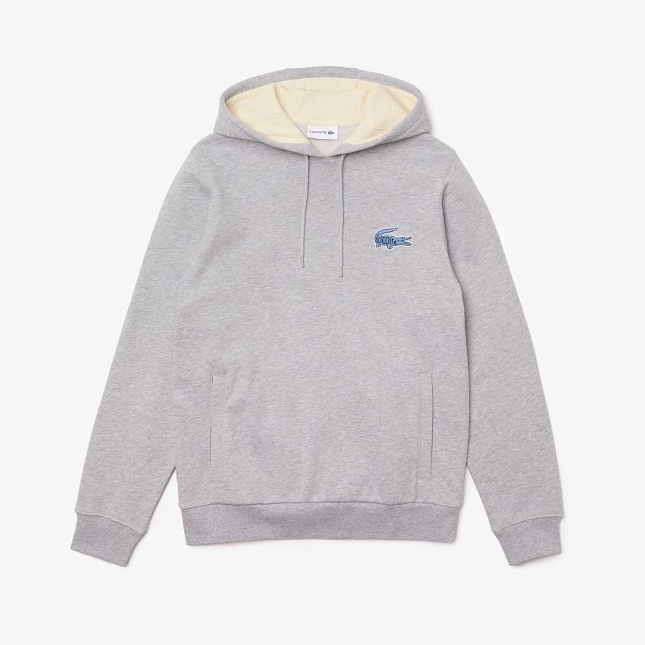 LACOSTE Sweatshirt à capuche avec badge-1