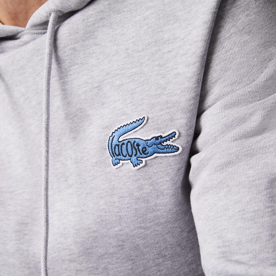 LACOSTE Sweatshirt à capuche avec badge-5