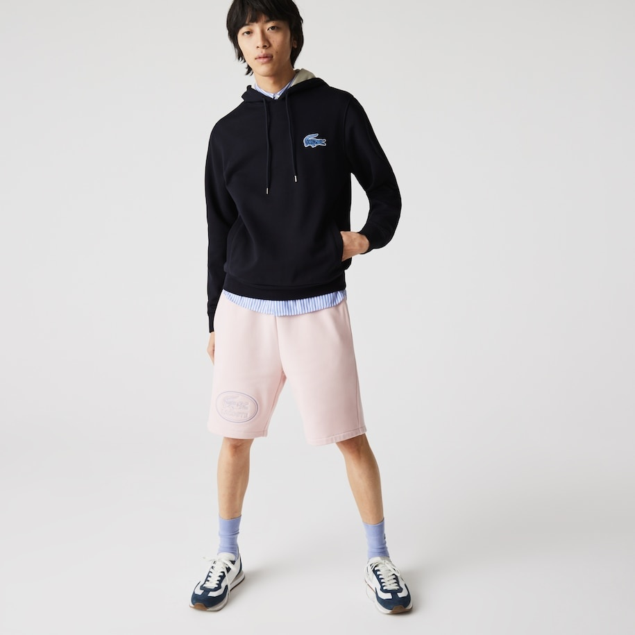 LACOSTE Sweatshirt à capuche avec badge-7