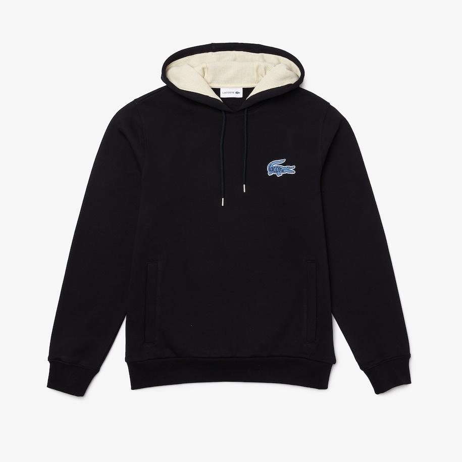 LACOSTE Sweatshirt à capuche avec badge-10