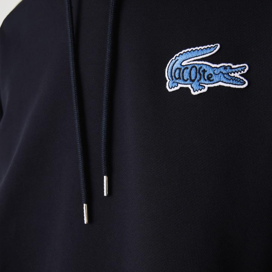 LACOSTE Sweatshirt à capuche avec badge-12