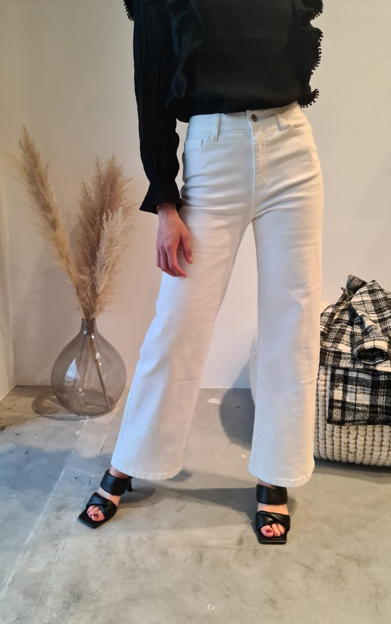 BARBARA jeans blanc-6
