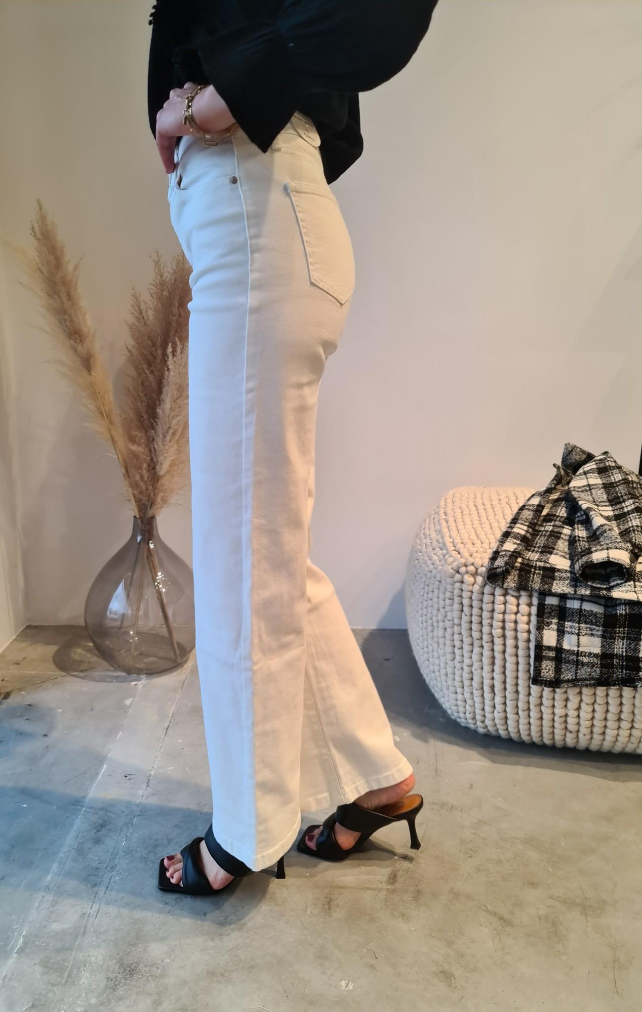 BARBARA jeans blanc-3
