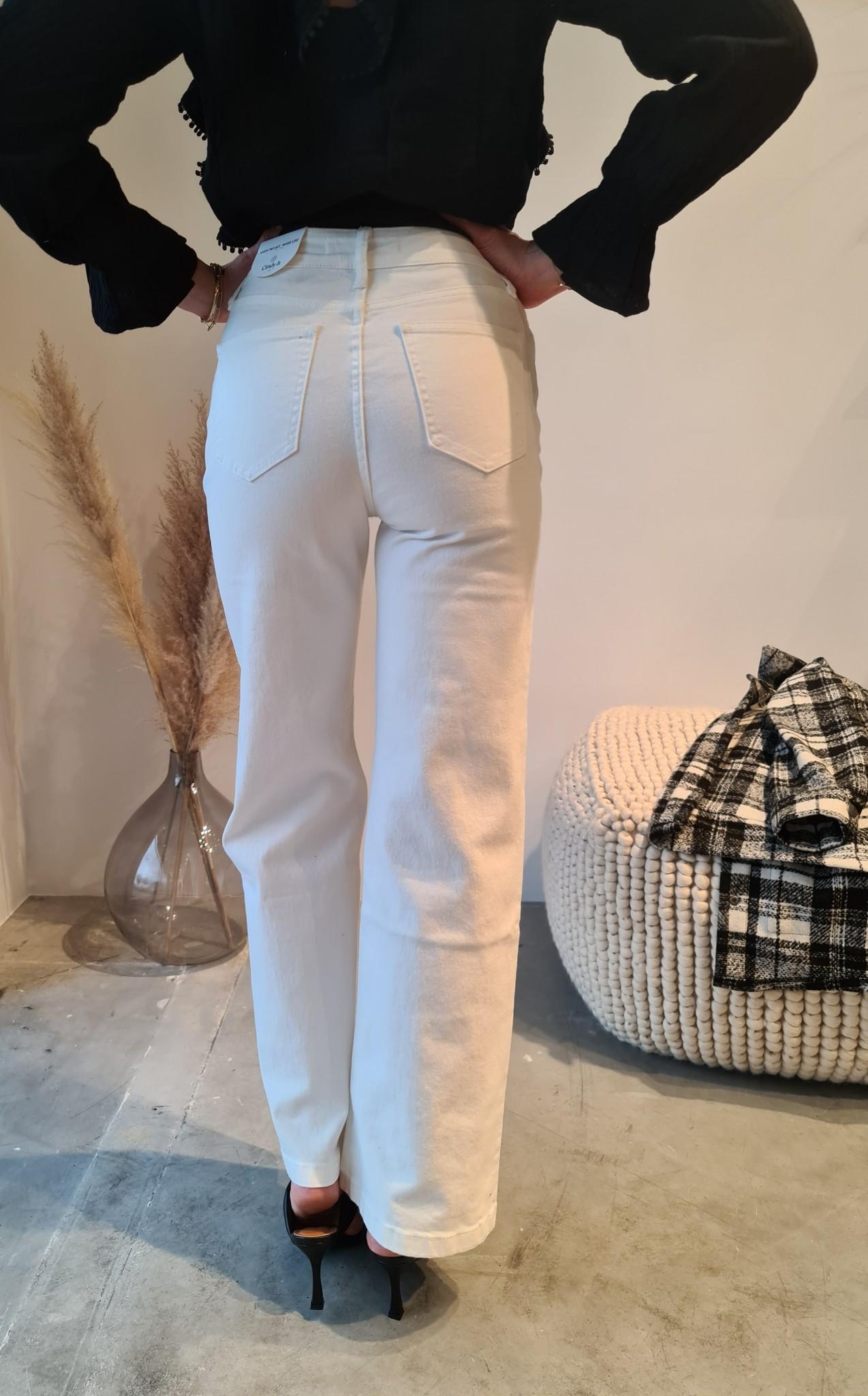 BARBARA jeans blanc-2