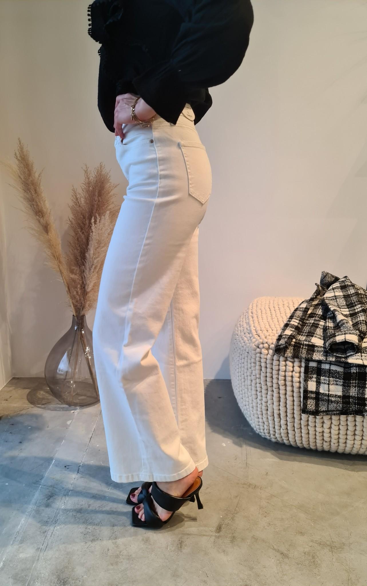 BARBARA jeans blanc-4