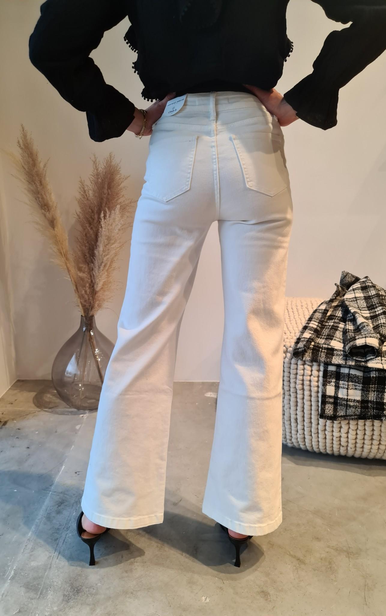 BARBARA jeans blanc-5