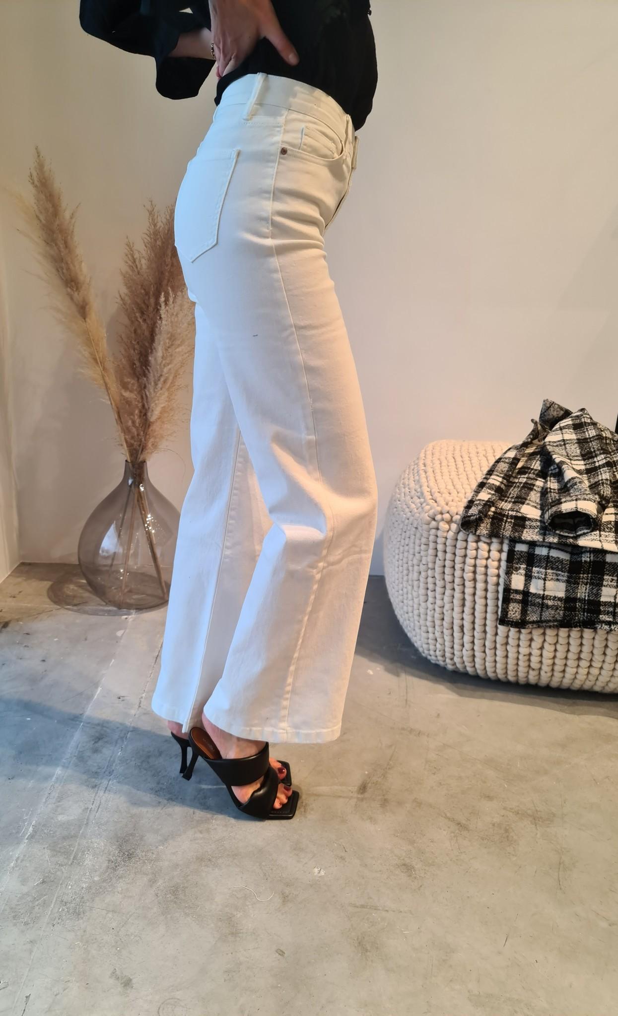 BARBARA jeans blanc-7