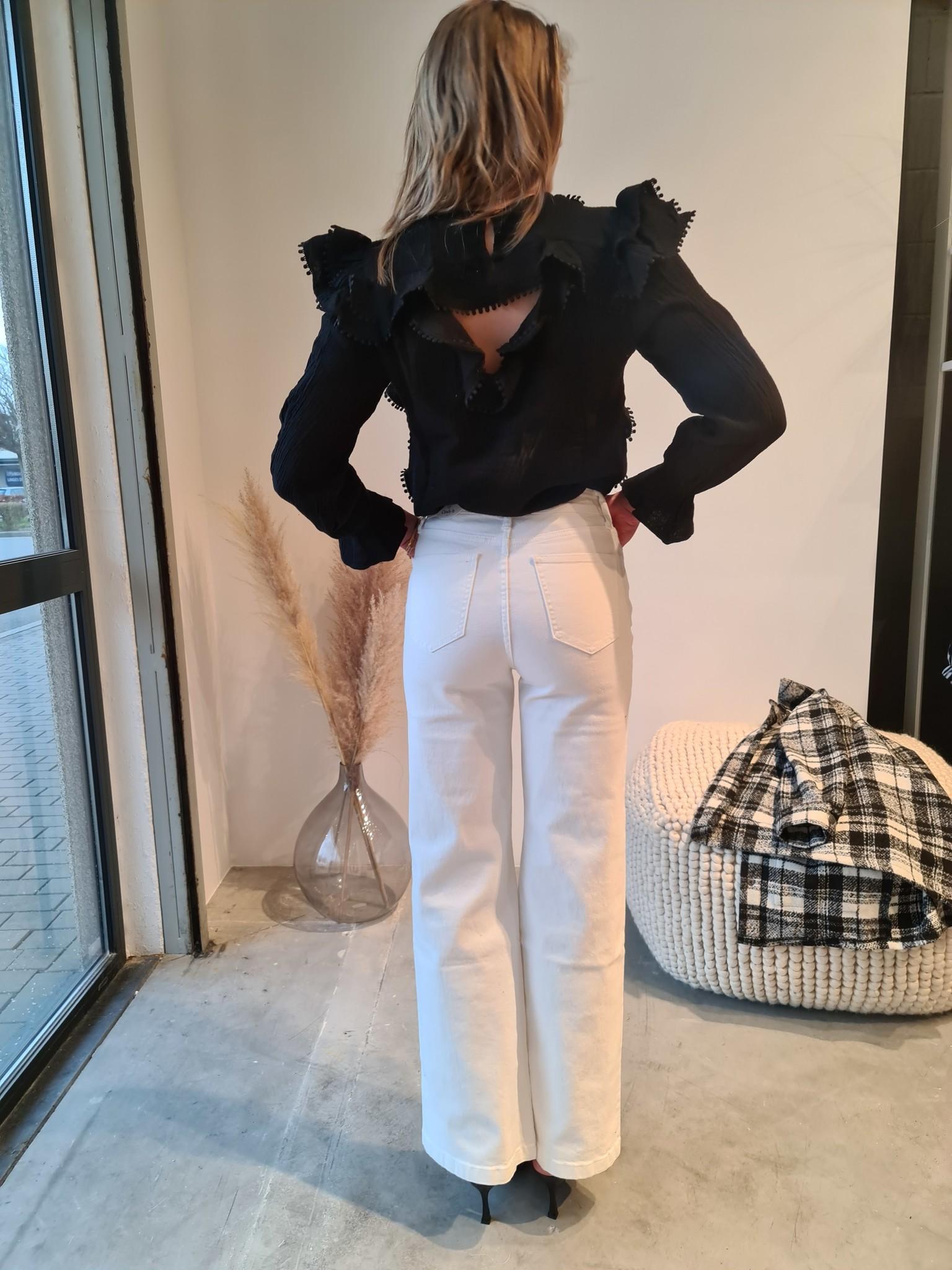 BARBARA jeans blanc-8