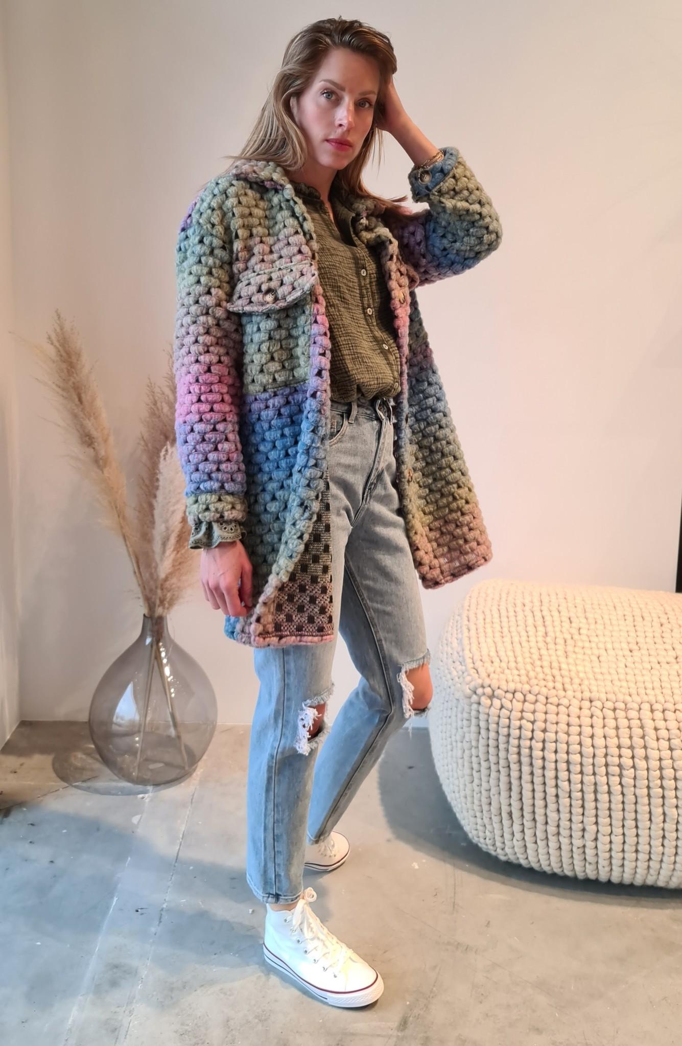 MORADO manteau vert-4