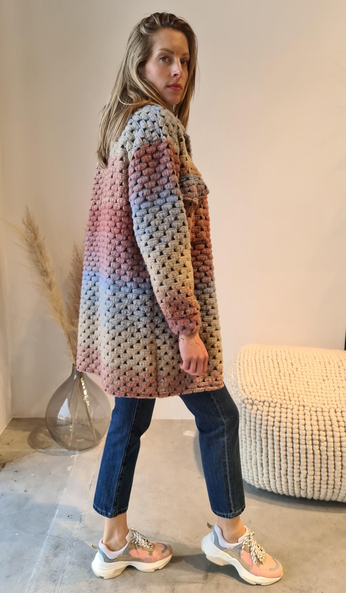 MORADO manteau orange-7