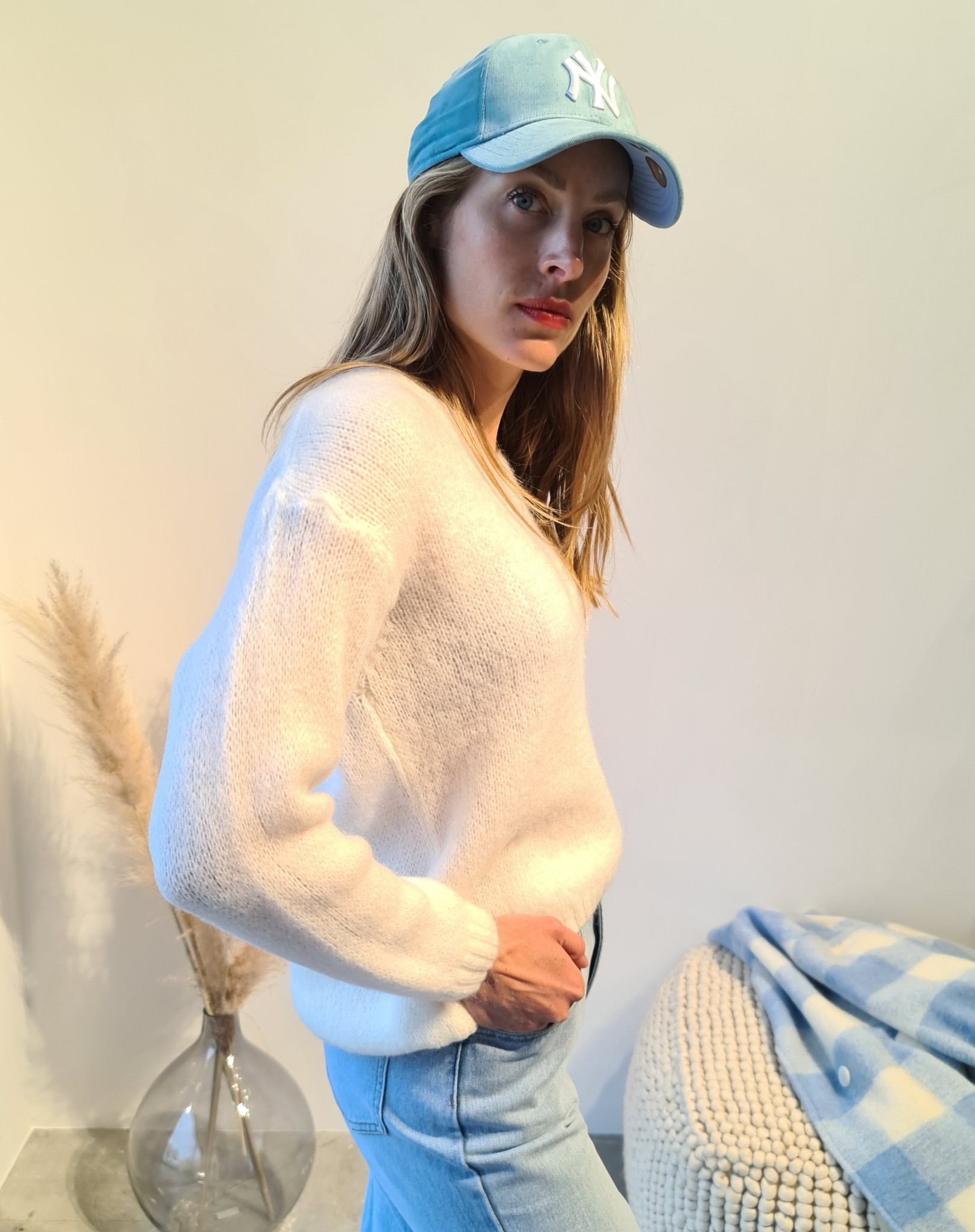 NELLY pull blanc-4