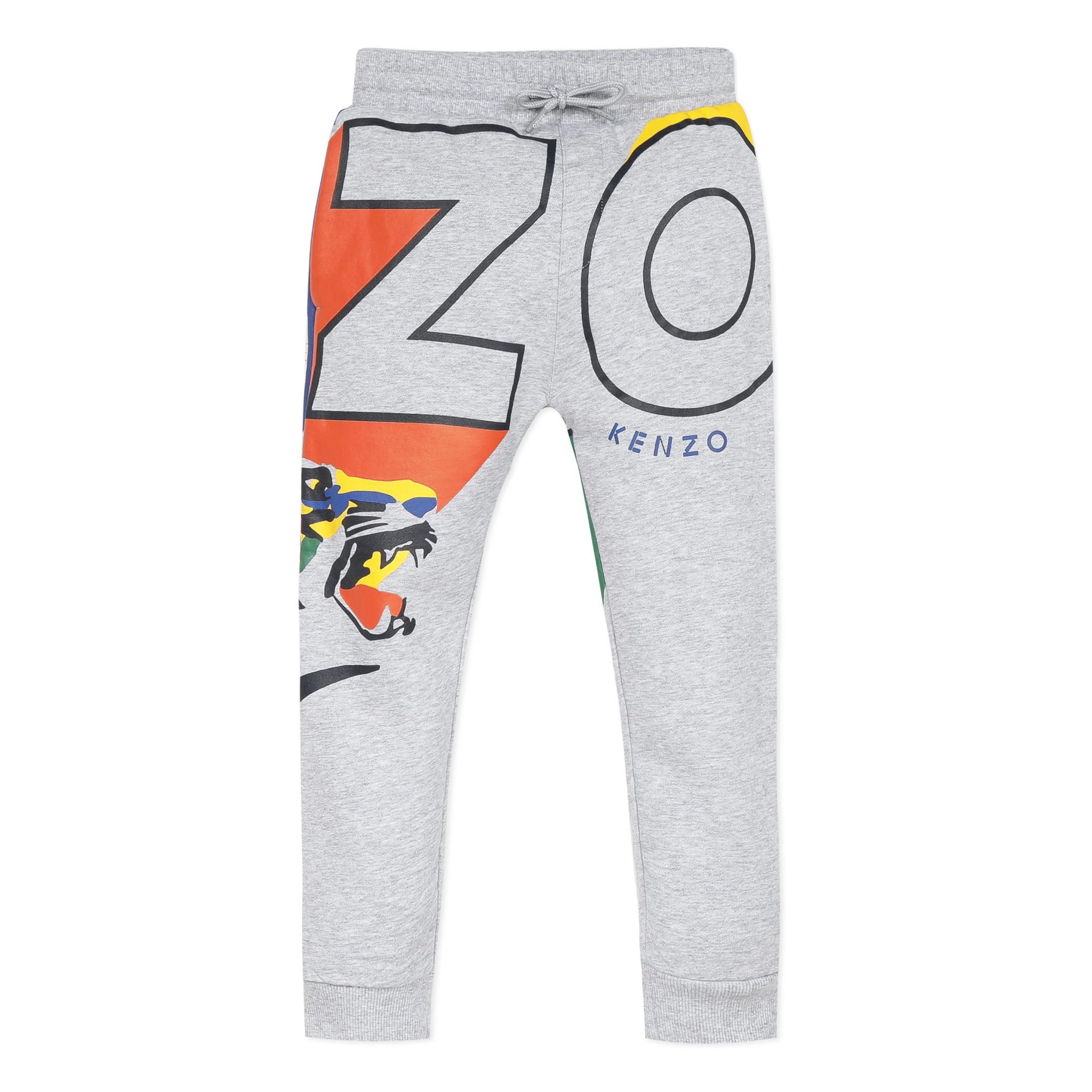 KENZO KIDS Pantalon avec motifs-1
