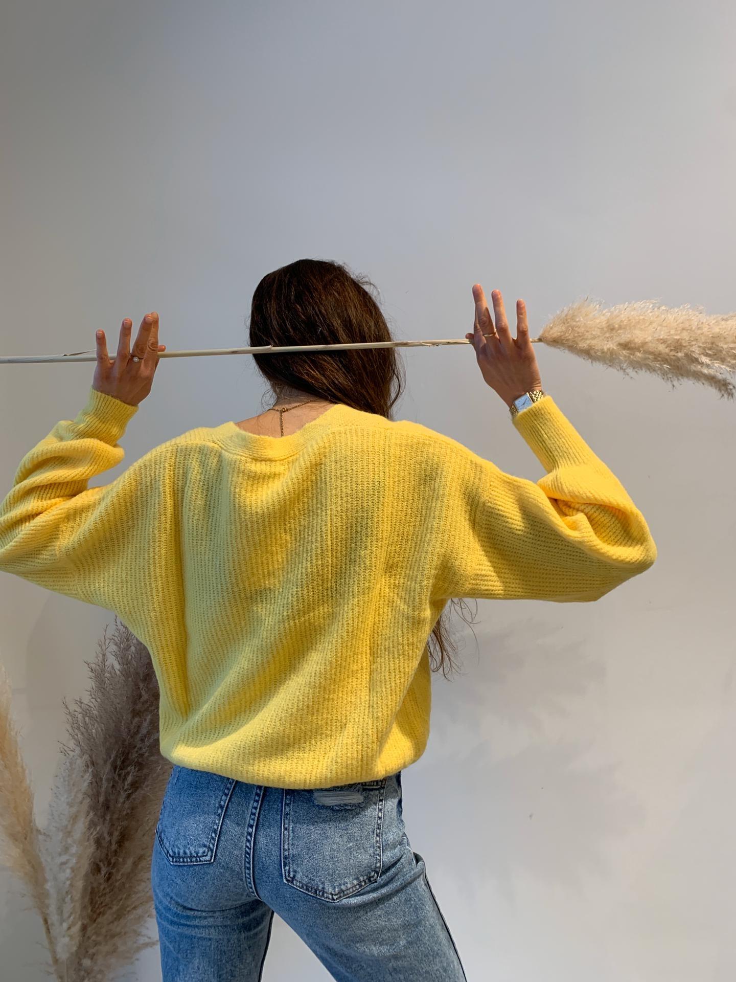 TRENDY gilet jaune-2