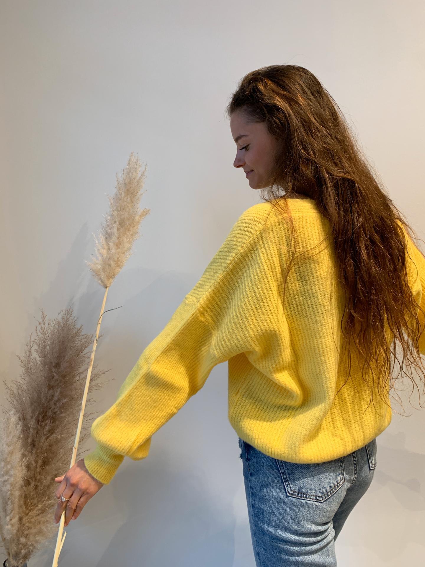 TRENDY gilet jaune-3