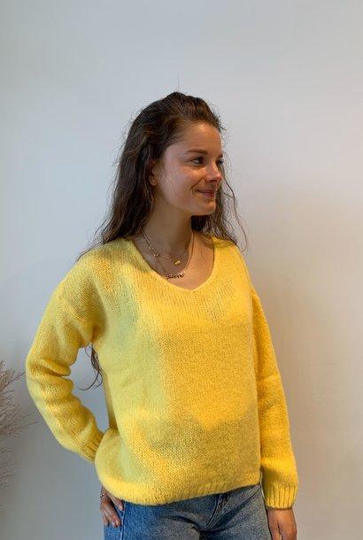 NELLY pull jaune