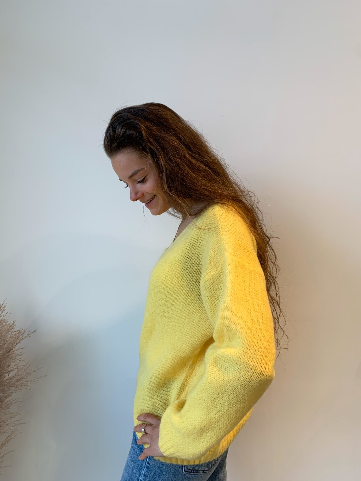 NELLY pull jaune-2