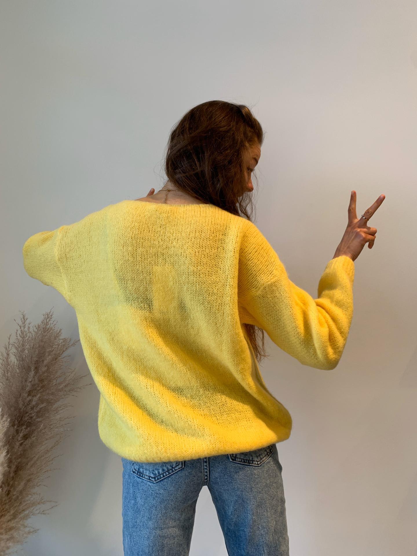 NELLY pull jaune-3