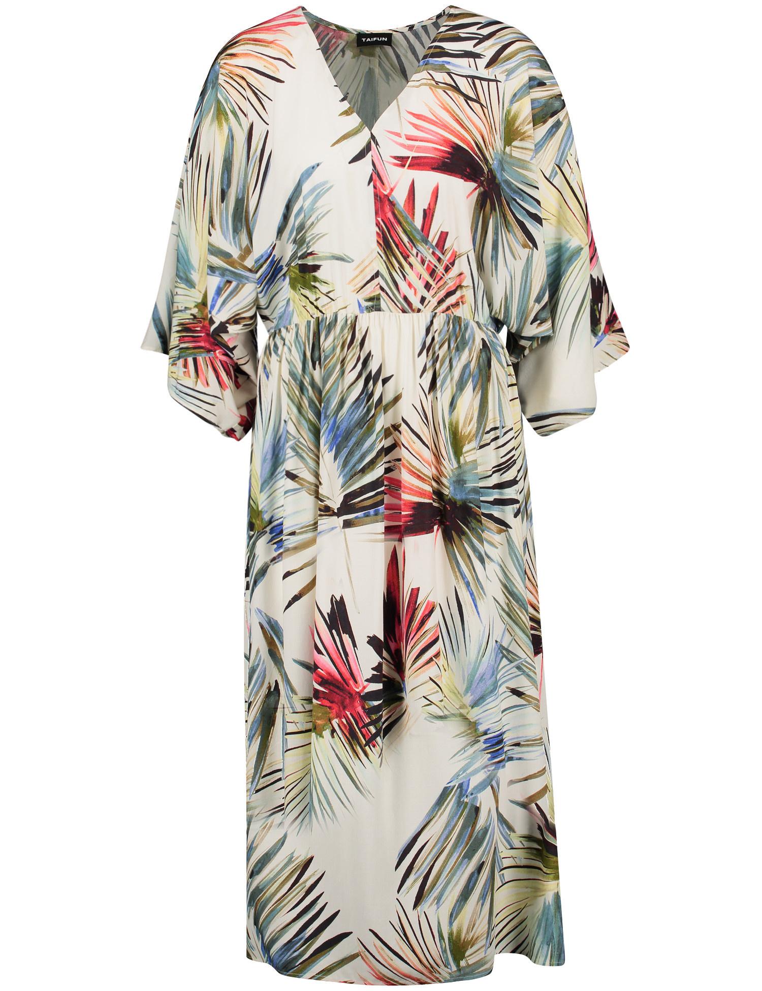 TAIFUN robe longue imprimé-1