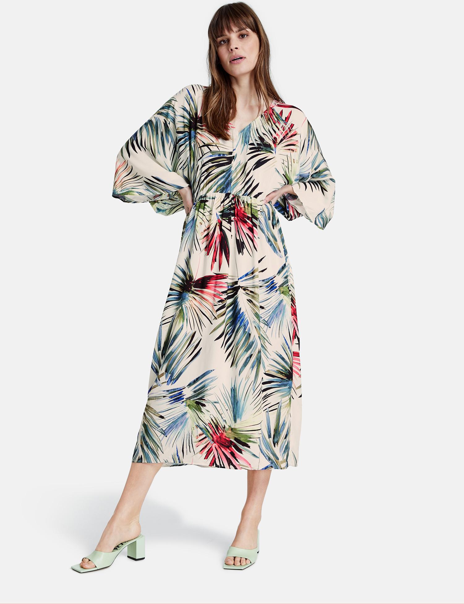TAIFUN robe longue imprimé-2