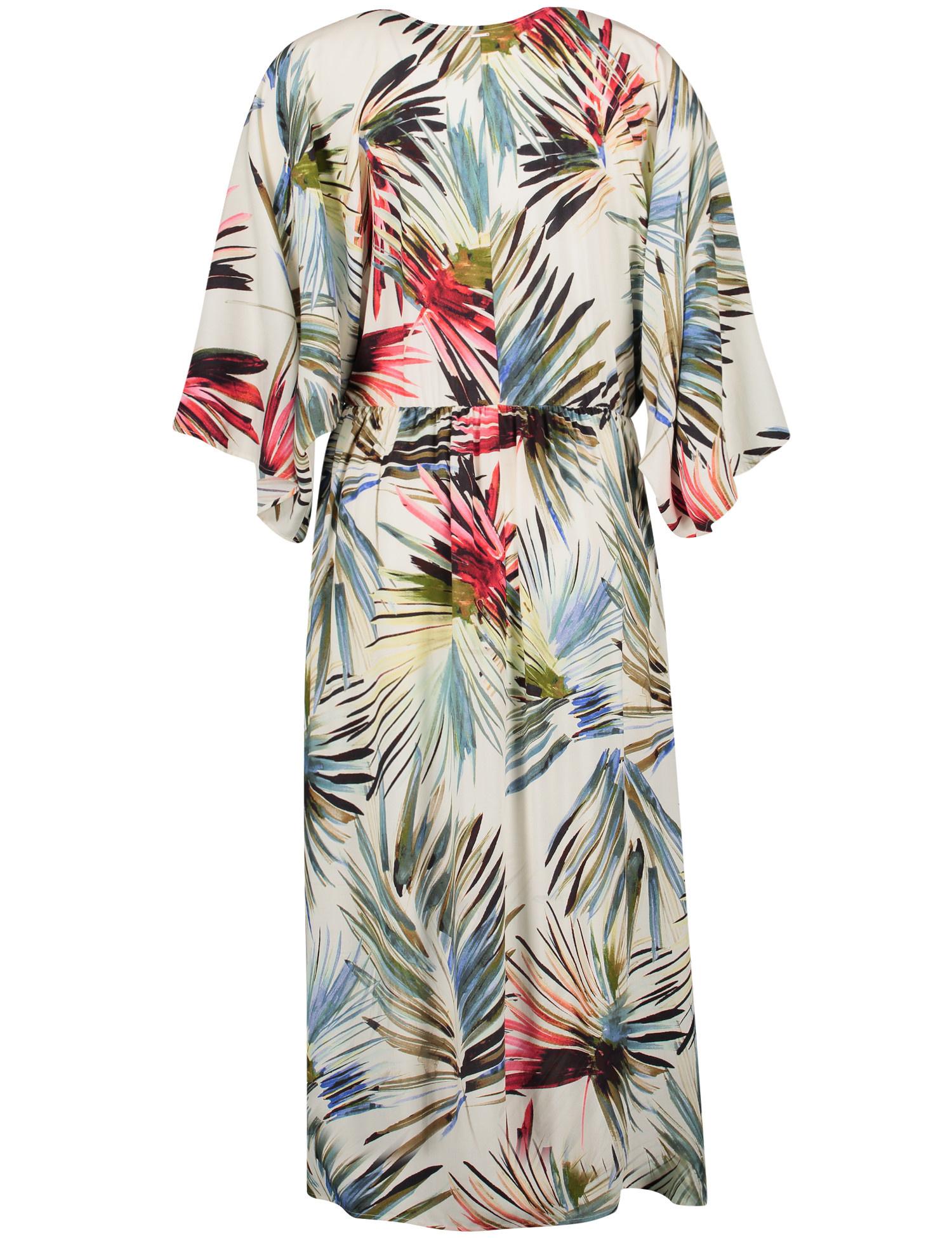 TAIFUN robe longue imprimé-4