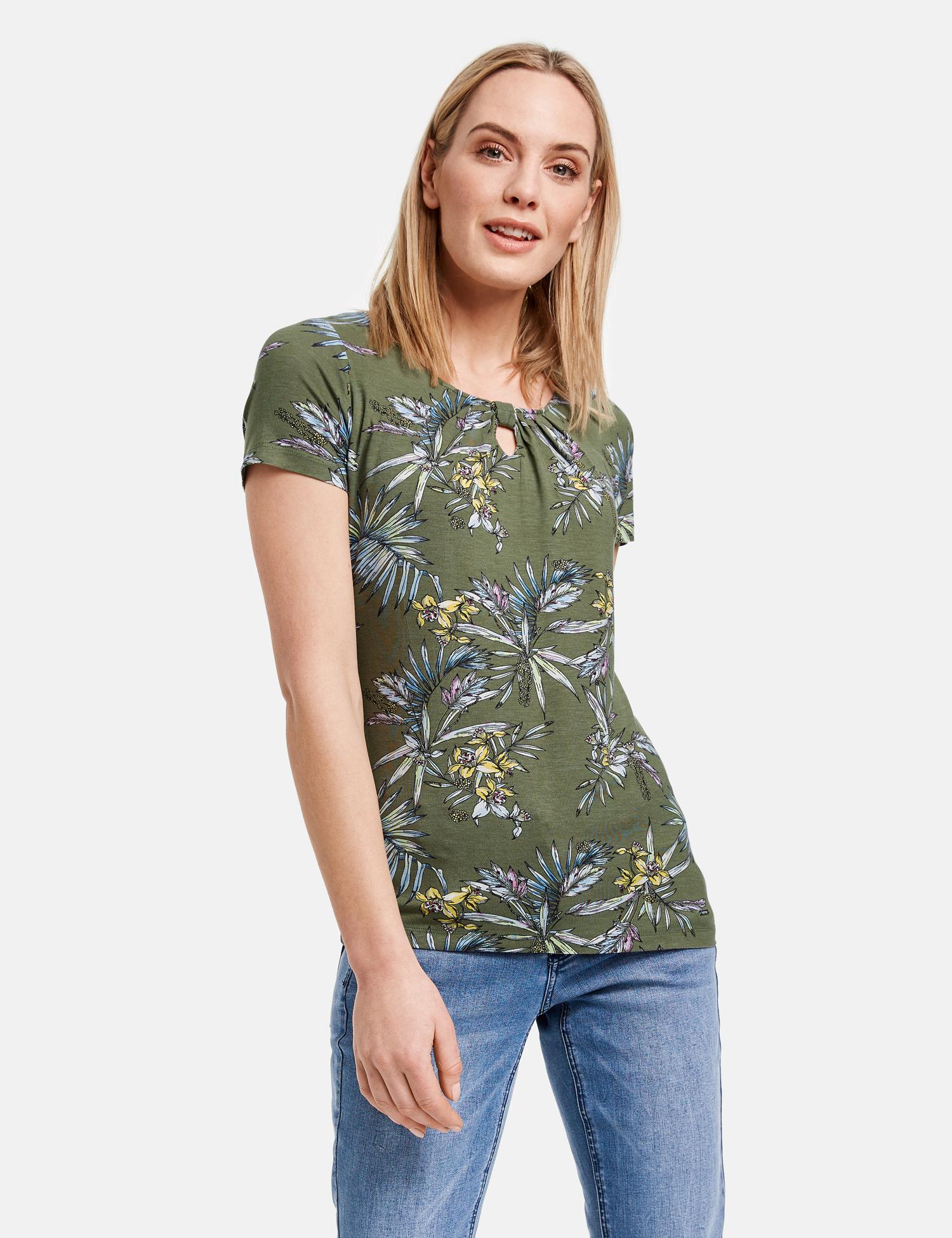 TAIFUN t-shirt imprimé-2