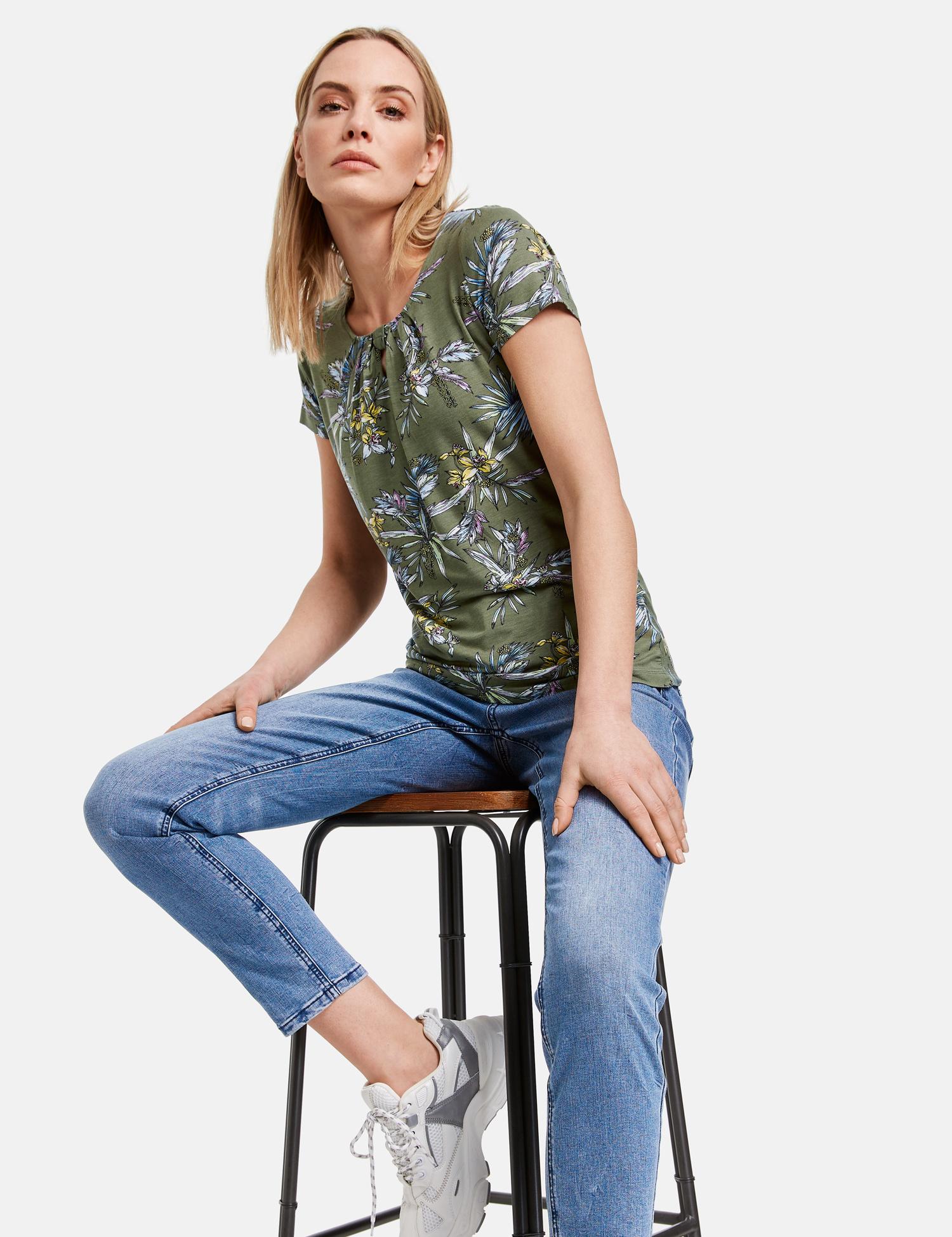 TAIFUN t-shirt imprimé-3