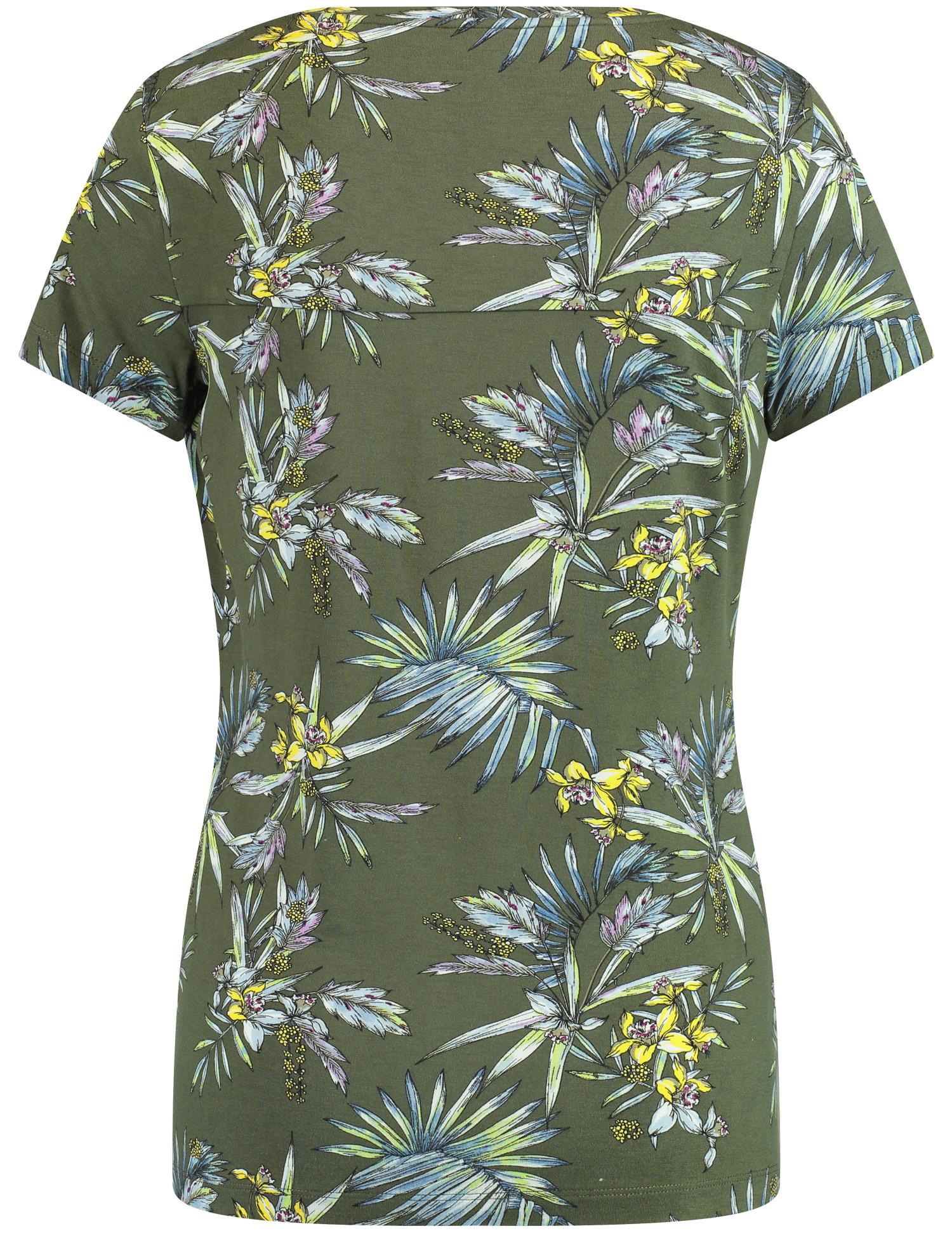 TAIFUN t-shirt imprimé-4