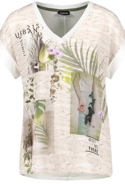 TAIFUN t-shirt en v