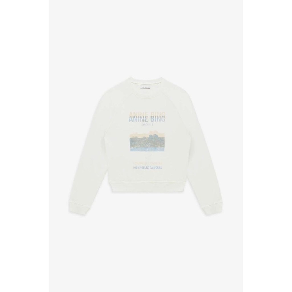 Sweat-shirt blanc Arlo-4